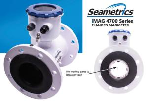 Seametric Magnetic Flow Meter