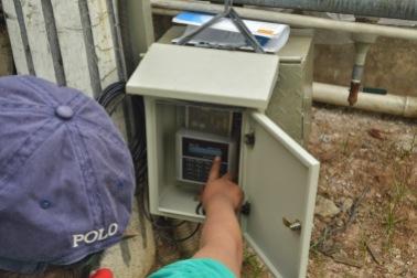 Setting Parameter Flow Meter Ultrasonic