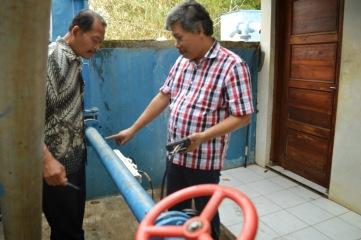 Cara Mengoprasikan Portable Flow Meter