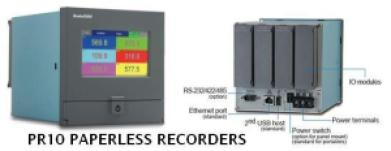 PR10 Paperless Recorders Brainchild
