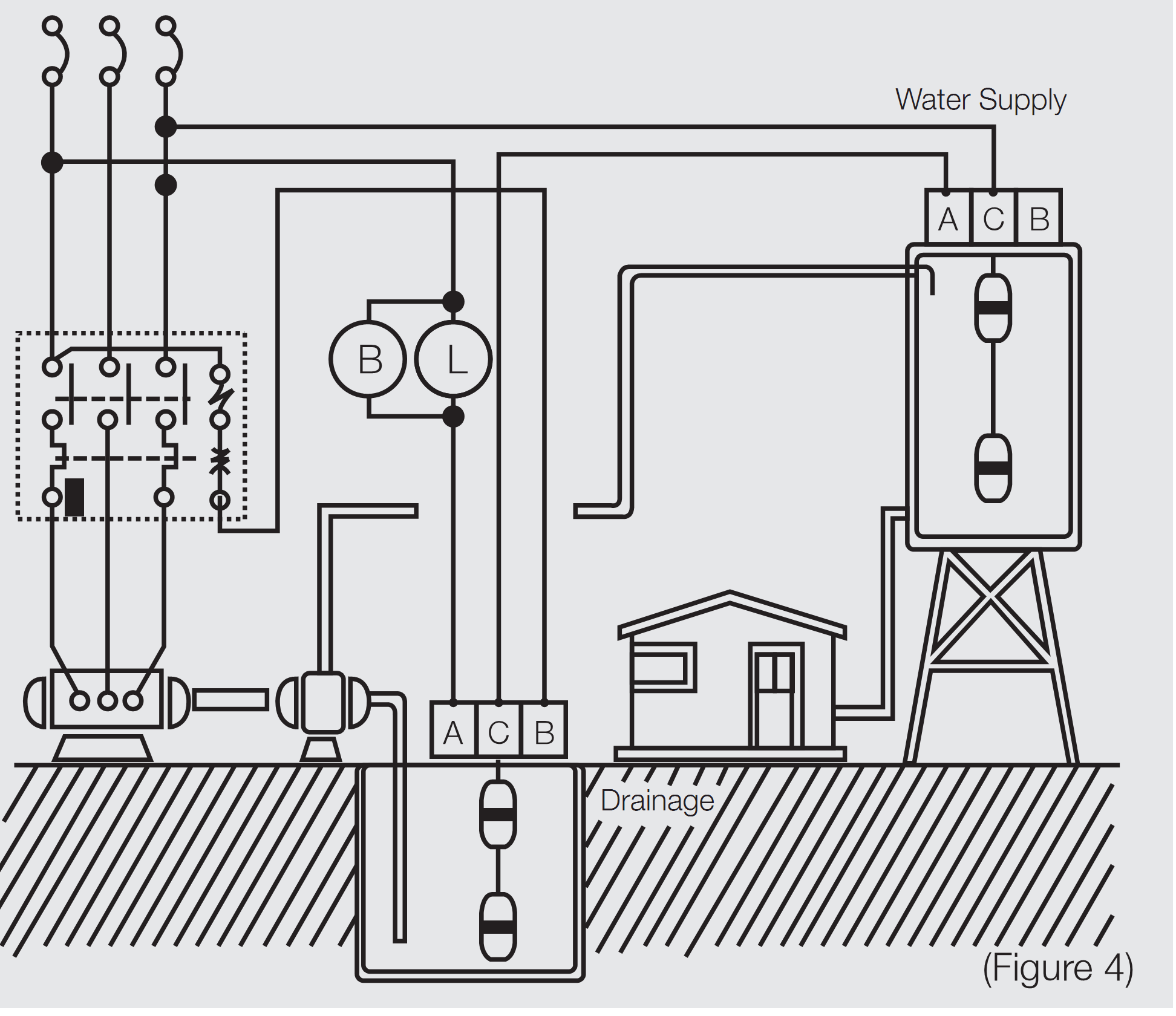 indirect water heater diagram